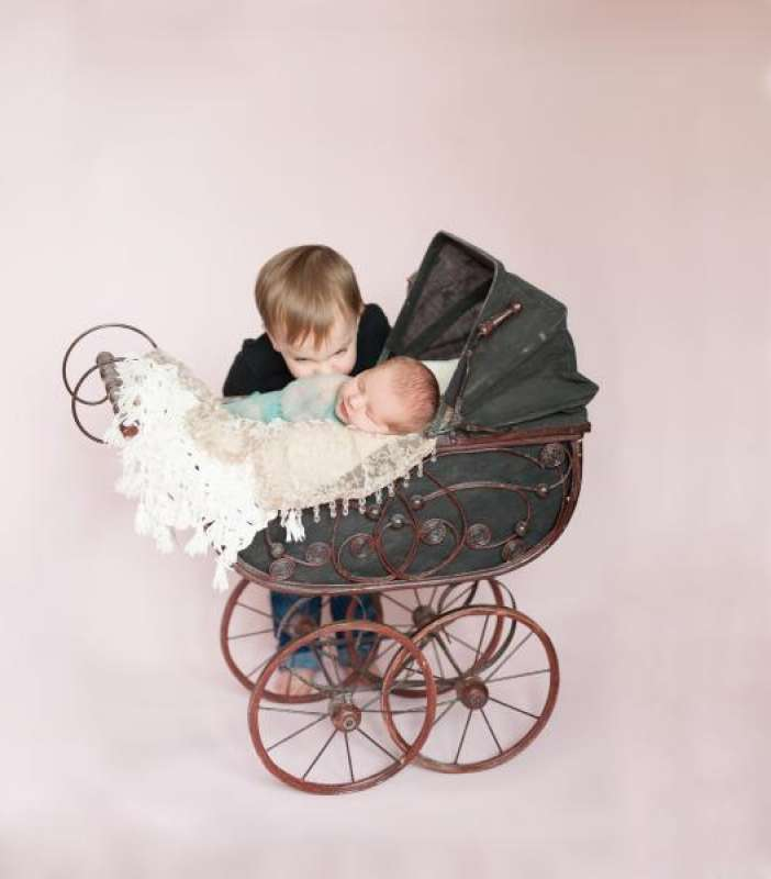 Newborns Photography - BabyGeorgiaTcarriageandMatthew